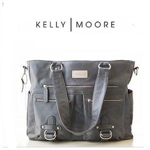 Kelly Moore Vegan Libby Camera Bag in Gray